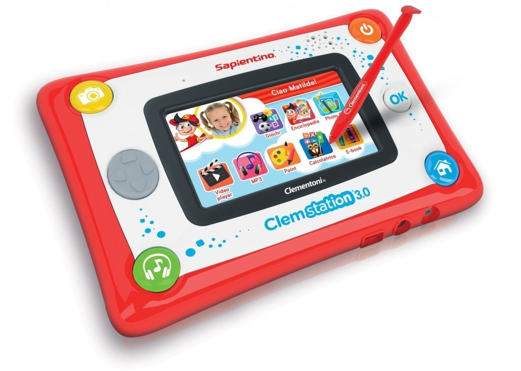 Clemstation tablet bambini