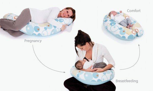 cuscino allattamento doomoo buddy utilizzi