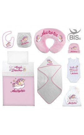 corredino neonato personalizzato femminuccia